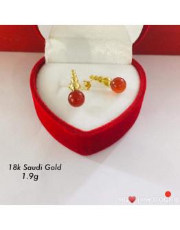 Earrings 18k SaudiGold Special