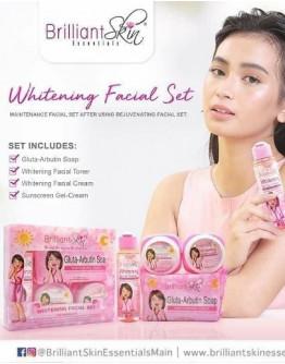 Brilliant Whitening Facial Set