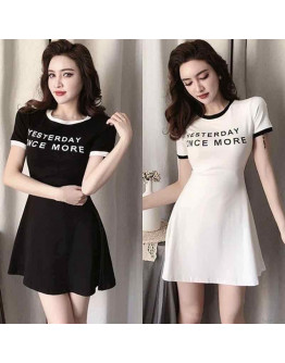 Shortsleeves mini dress