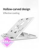 2-in-1 Laptop Tablet Desk PC Stand Foldable with Phone Holder