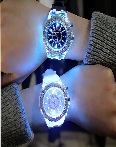 LED Night Light Watch for MEN and WOMEN