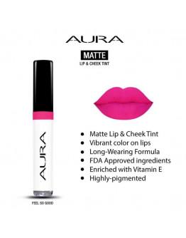 Aura Matte Lip and Cheek Tint