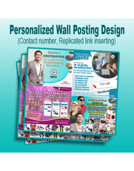Arem WALL POSTING PERSONALIZED