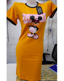 CHARACTER MICKEY MOUSE DRESS OVERRUN